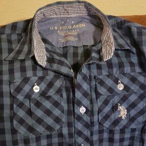 U.S. Polo Assn. Shirts & Tops - 4/$20 polo button up